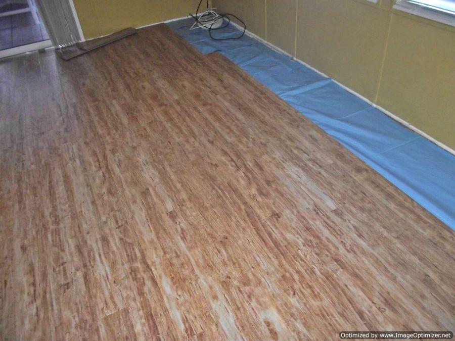 Kensington Manor, Dream Home, laminate flooring. Last rows living room installation