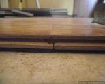 Dream Home, Kensington Manor 12mm laminate flooring locking system close up attached
