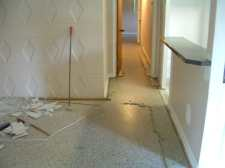 Floor preparation before I can lay the Quick Step laminate flooring