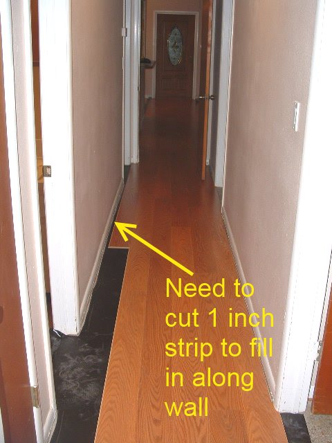 Installing laminate flooring in hallways do it yourself quick step slate tile the more difficult installation is where laminate flooring flows into solutioingenieria Image collections