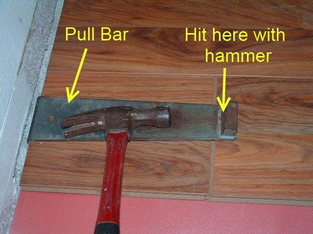 The Pull Bars That Are Sold In The Laminate Installation Kits Are Basically Just A Heavy Metal