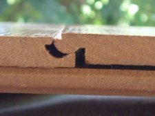 Armstrongs Swiftlock from Lowes side joint close up photo