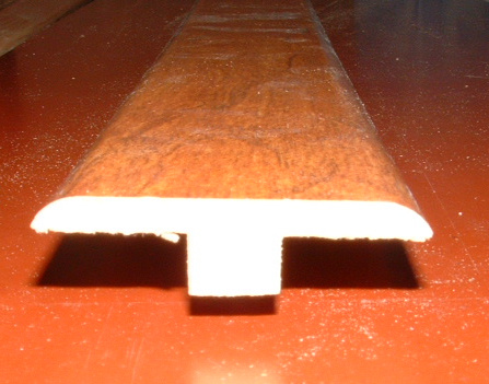 Laminate T Mold Close Up Photo