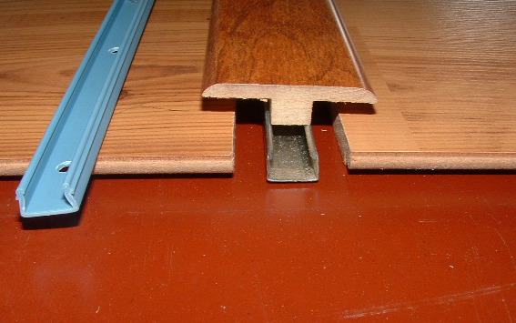 Installing Laminate Transitions Step