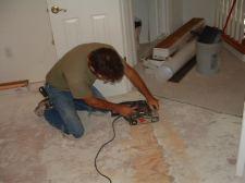 Lowes Mohawk sanding uneven sub floor