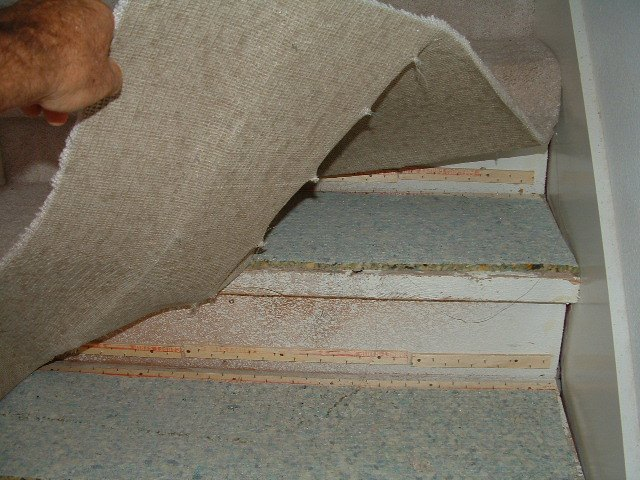 Laminate or Hardwood on Stairs Preparation, Tampa Bay, Step by Step Instructions