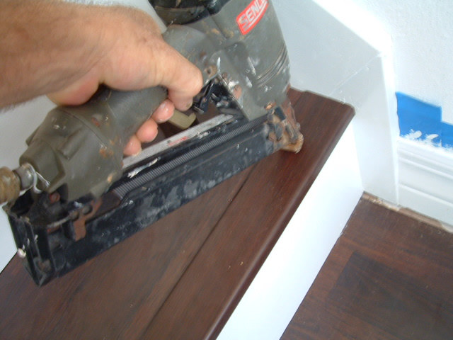 Installing Stair Nose For Diy Stair Installation Tampa