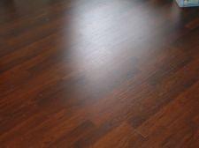 Lowes Mohawk laminate flooring, color: ebony