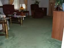 The before photo before I start to install Vanier laminate flooring