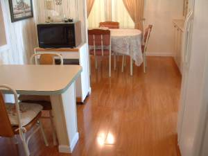 Vanier laminate flooring finished photo in dining room