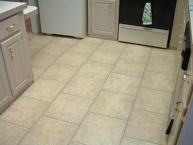 Installing laminate tile flooring diy instructions for Kitchen flooring installation