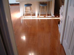 Vanier laminate flooring in the sunshine photo