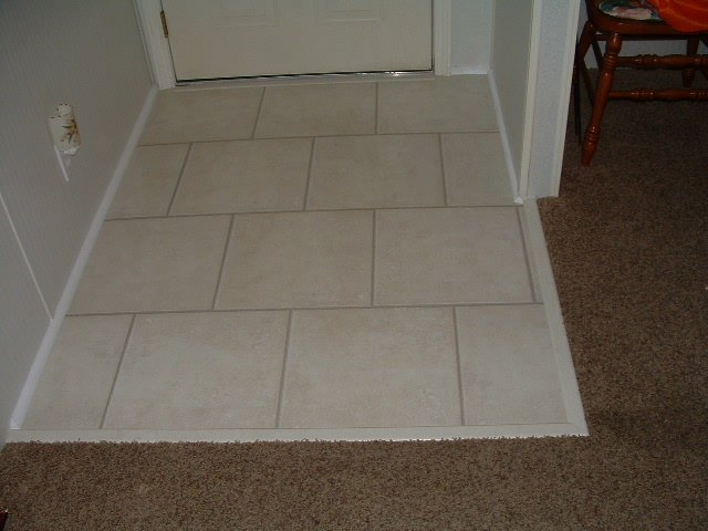 Large Tile Foyer : Laminate flooring photos