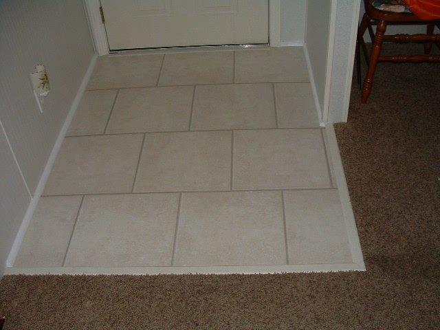Foyer Tile Job : Laminate flooring photos