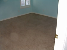 Horizon laminate flooring is going to be installed in this room, purchased from Flooring America