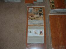 Horizon laminate flooring label, Purchased from Flooring America
