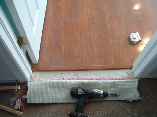 Door Transition Amp Common Tile Install Problem Confessions