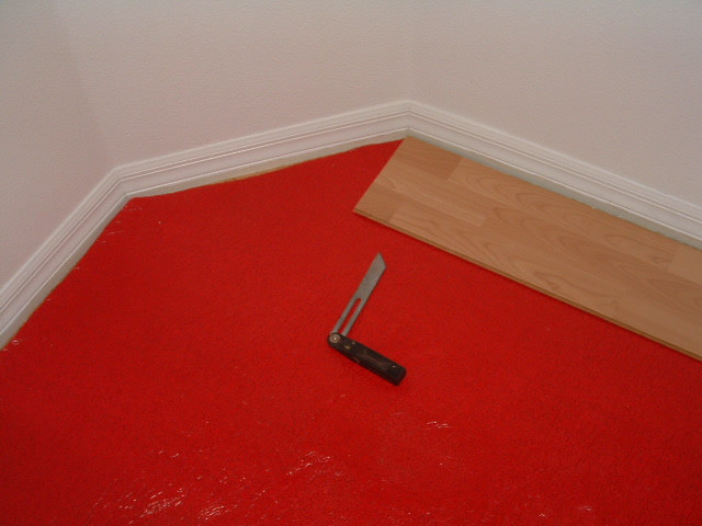 Installing Laminate Wood Floor