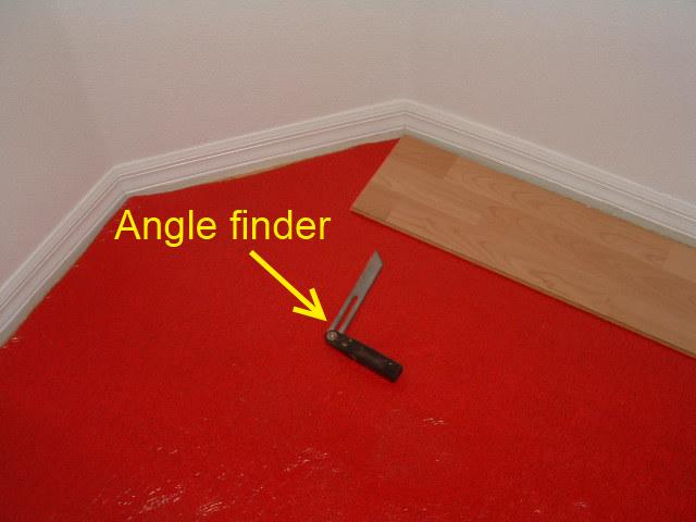 Installing Laminate At 45 Degree Angle, How To Install Laminate Flooring At 45 Degree Angle