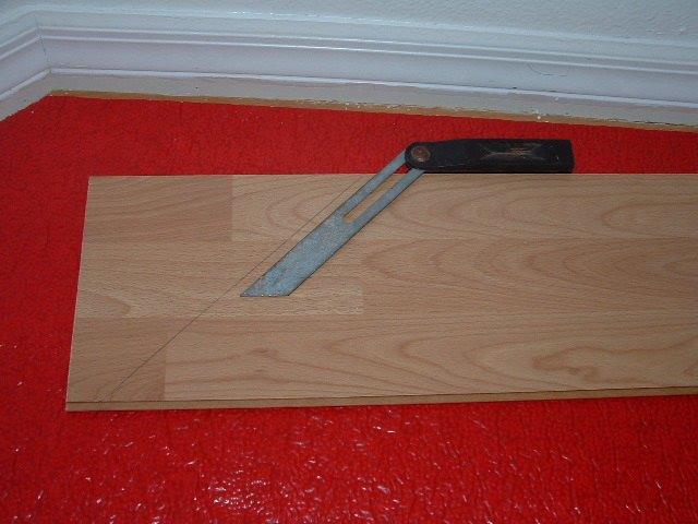 Laminate Flooring Laminate Flooring Angle Cuts