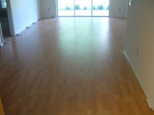 Pergo Presto laminate, living room after photo for installing the laminate.