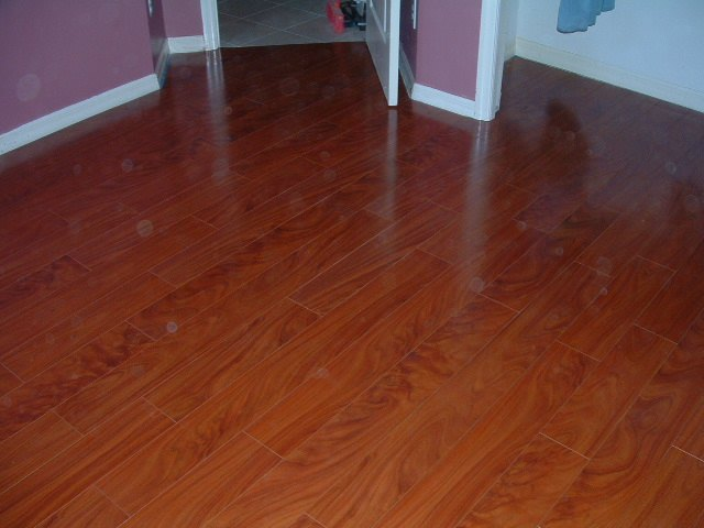 Lumber Liquidators St. James Laminate Flooring Finished Floor.