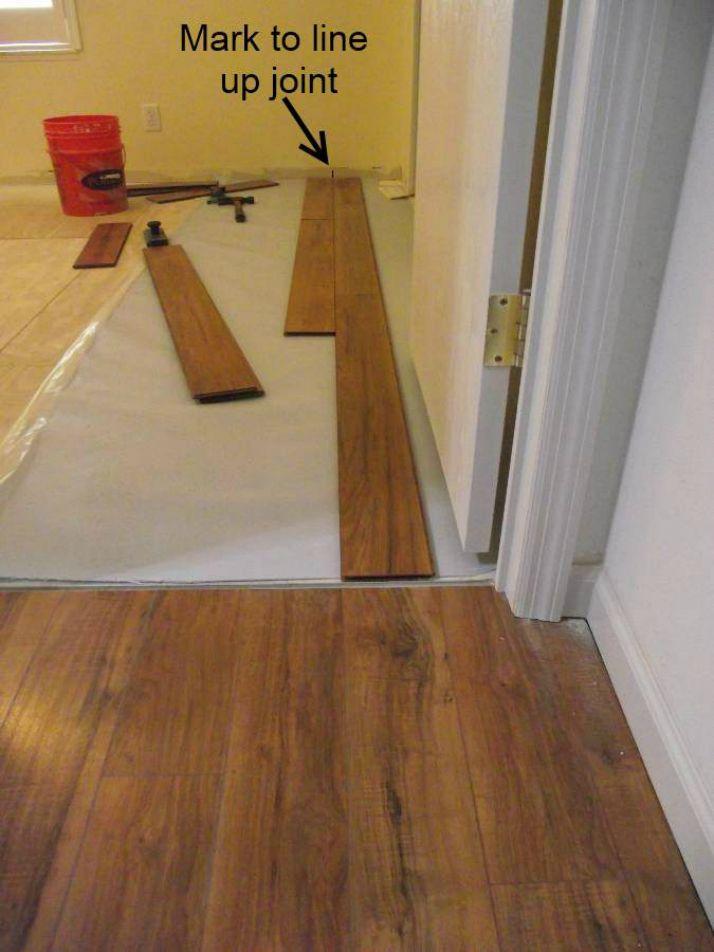 Laminate flooring too tight against walls