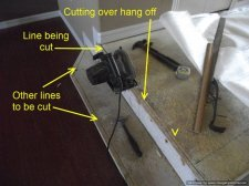 how to measure and cut laminate flooring
