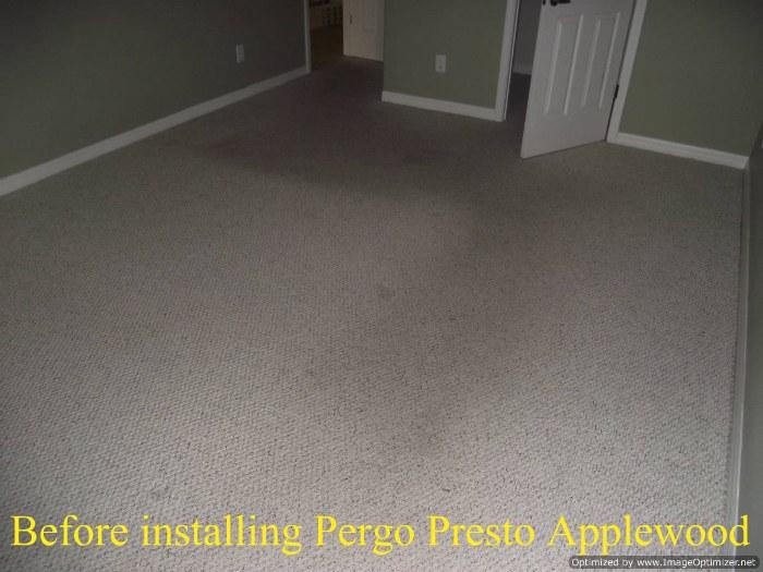 Home Depots Pergo Presto Applewood Review