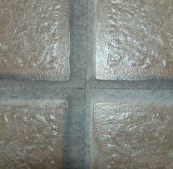 Laminate grid pattern 4 corners