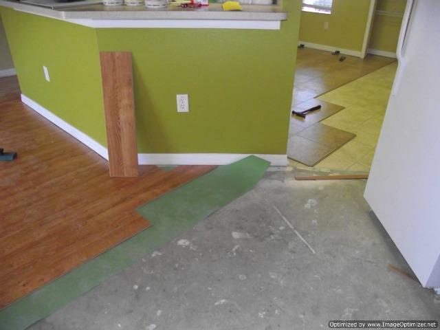 Quick Step 700 series Golden Oak and Quick Step Quadra laminate tile