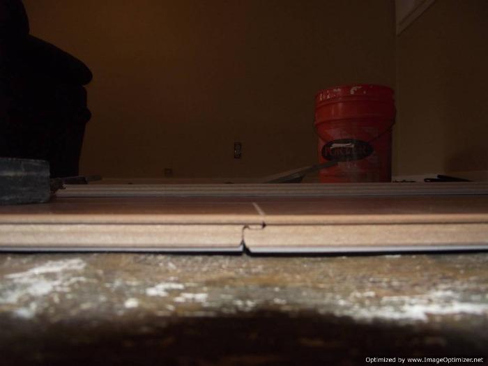 Lamton Santa Maria 12mm laminate flooring drop lock locking system.