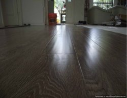 Shaw laminate flooring closue up photo