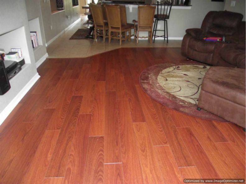 Quick Step Perspective laminate installed.