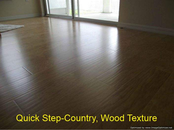 Quick Step, Country laminate flooring Shows texture