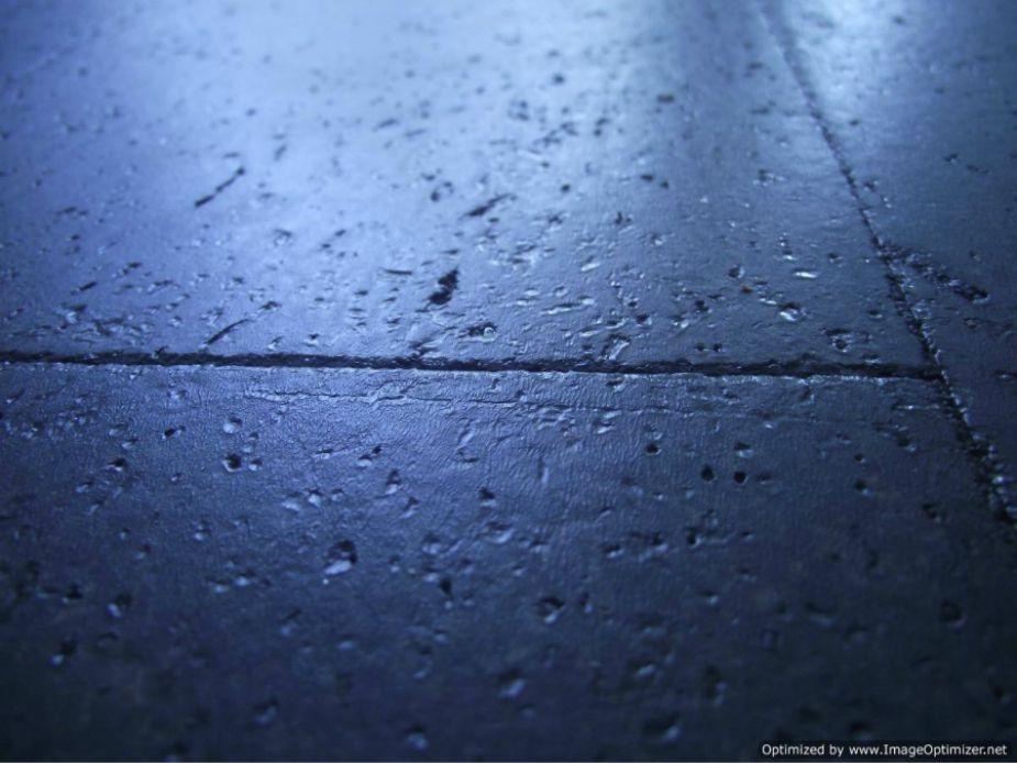 Cork laminate flooring close up