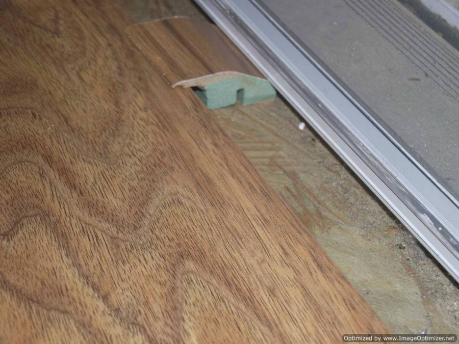 Laminate Floor Transition Outside Door Carpet Vidalondon