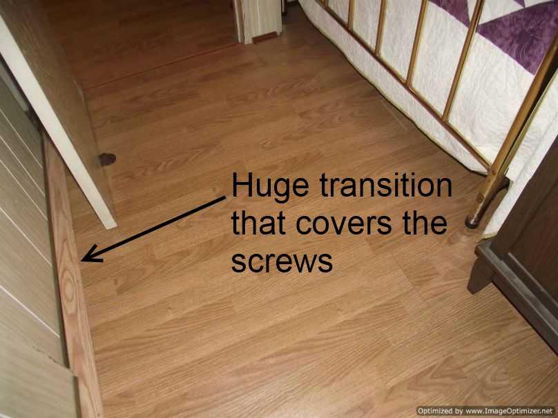 Bad Laminate Flooring Installation
