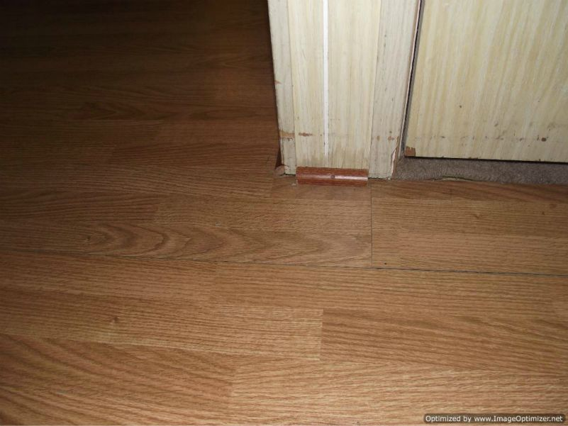 Laminate Flooring Repair Peaking Laminate Flooring