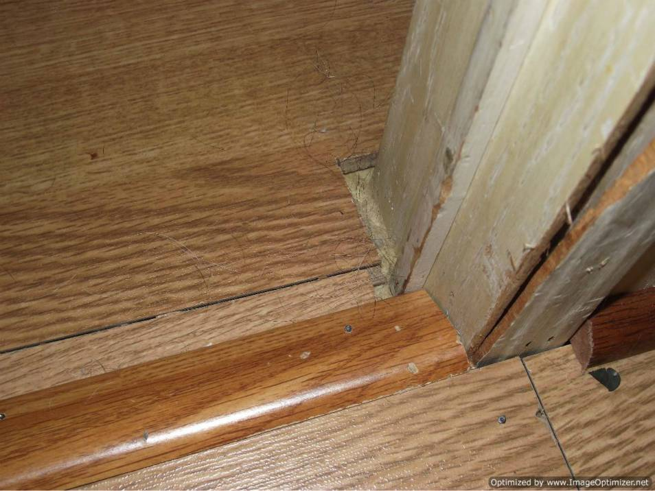 How To Lay Click Laminate Flooring Through A Doorway