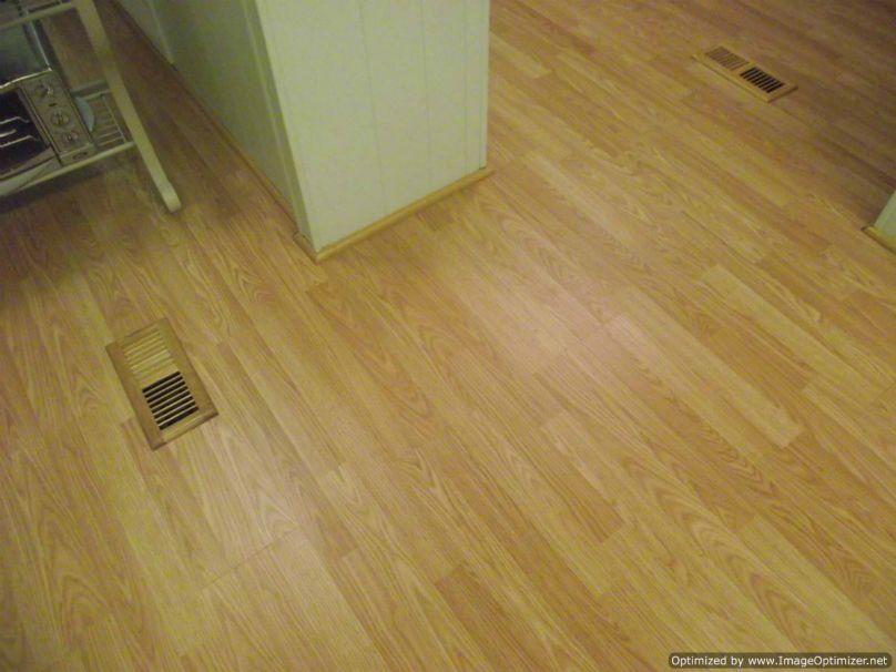 Shaw Gray laminate flooring, installed in living room