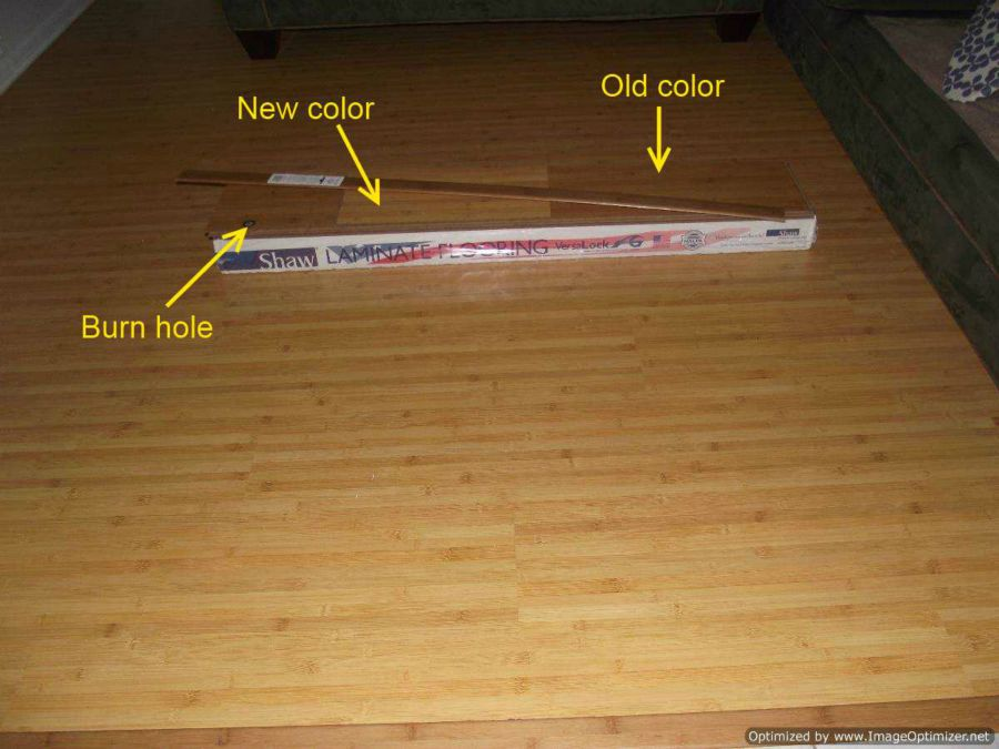 ... , This is my Shaw bamboo laminate review after I installed some in a