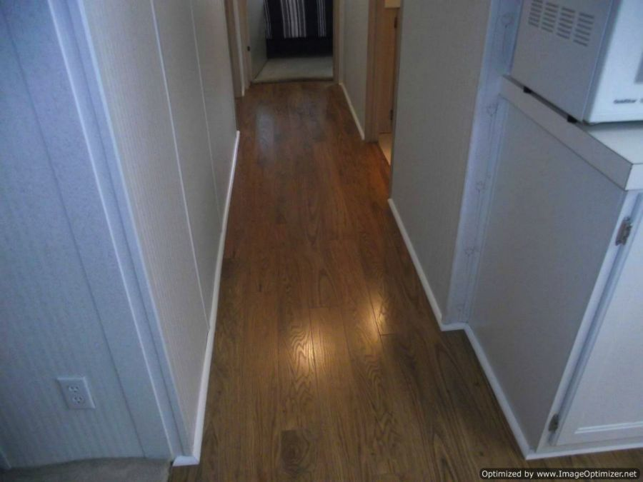 Pergo Xp Laminate Flooring Installed In Hallway