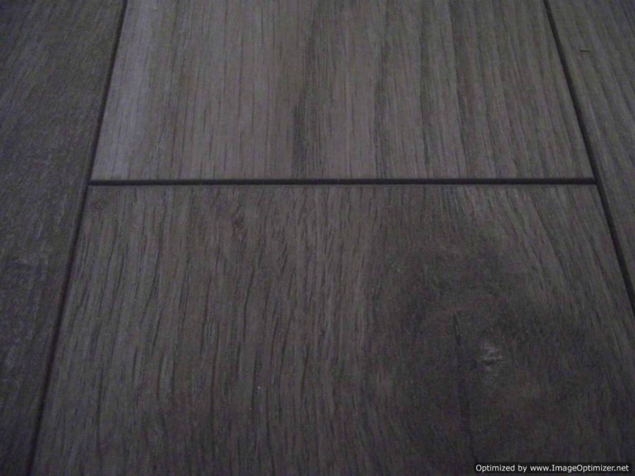 Close up of Nirvana V-groove laminate flooring