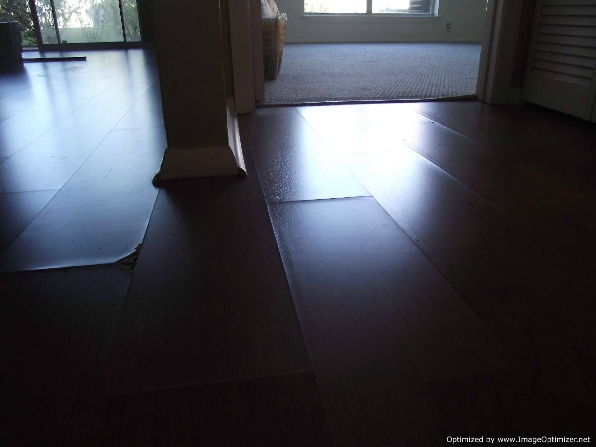 Here Is Some Water Damaged Laminate How To Repair Flooring