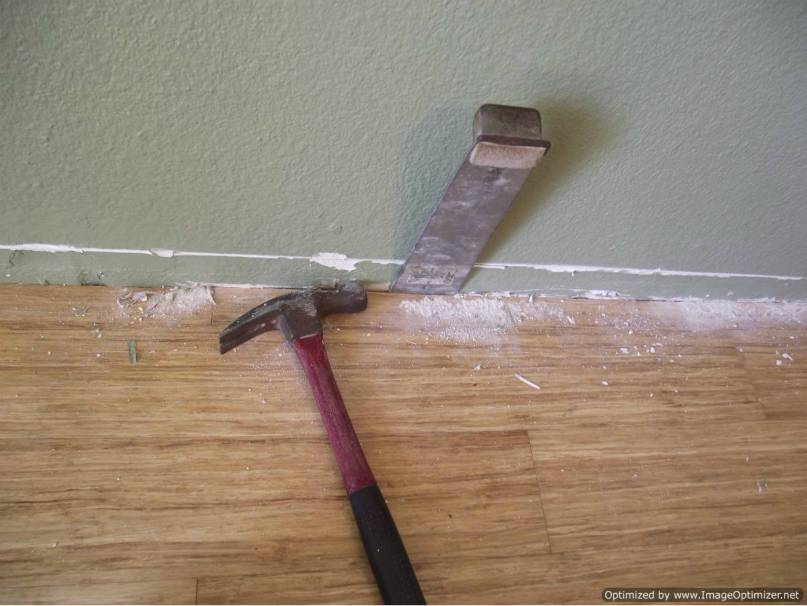 Repairing Bad Laminate Floor Installation