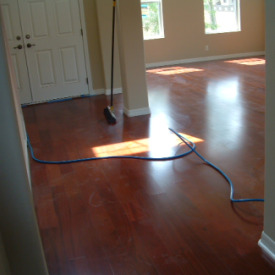Photo Of Wood Flooring From The Front Door
