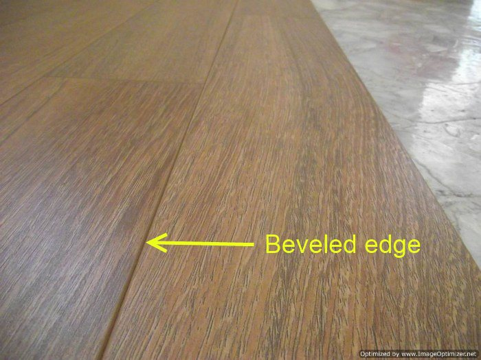 Beveled Edge Laminatedescription