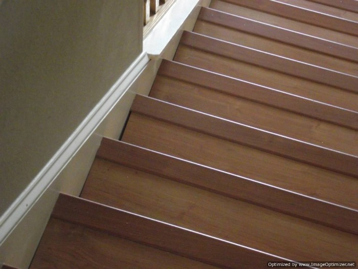 Bad Laminate Stair Installation