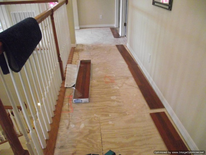 Installing laminate flooring in hallways do it yourself for Which laminate flooring